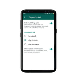 Lock WhatsApp Without any Third-Party Application